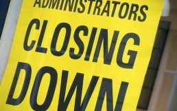 Administrations Closing Down